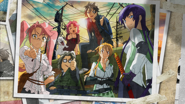 Highschool of the Dead BD Subtitle Indonesia