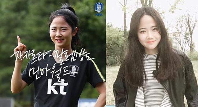 5 Pemain Timnas Korea Selatan Cantik Yang Berhasil Mencuri Perhatian Di Asian Games 2018