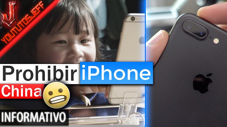 Quieren Prohibir la Fabricación de iPhones en China