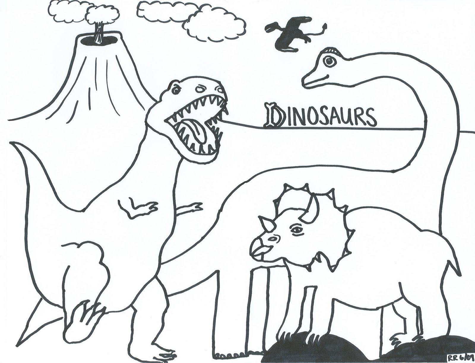 A Mad Dinosaur