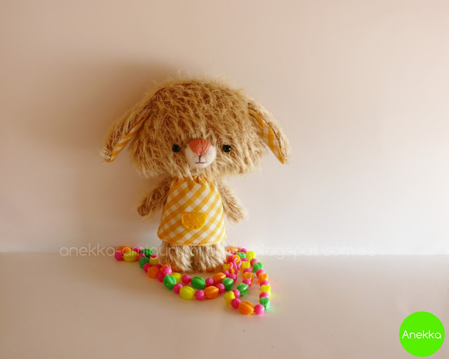 mohair  plush anekka handmade