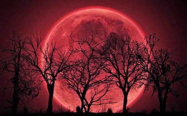 Pełnia w Wodniku, pełnia księżyca