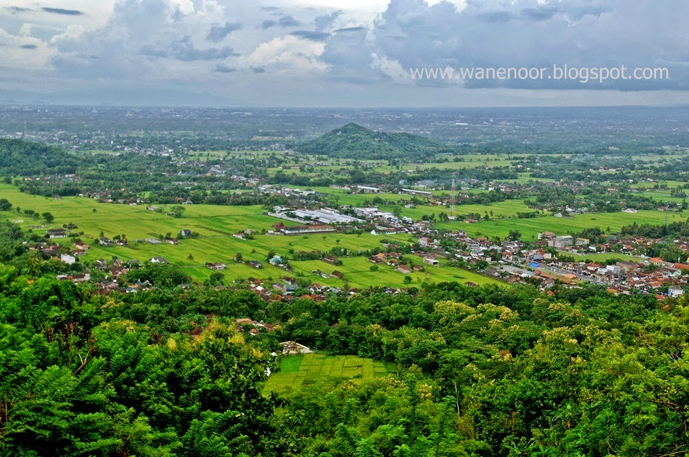 Pemandangan Yogyakarta Di Bukit Bintang