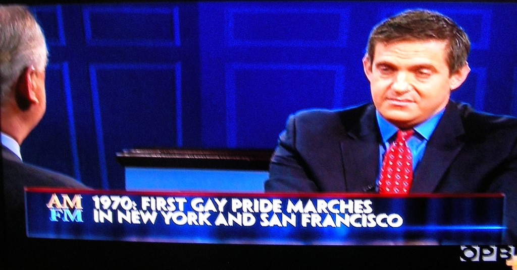 Gay marriage history on PBS by Marc Solomon still omitting Jack Baker and  Michael McConnell