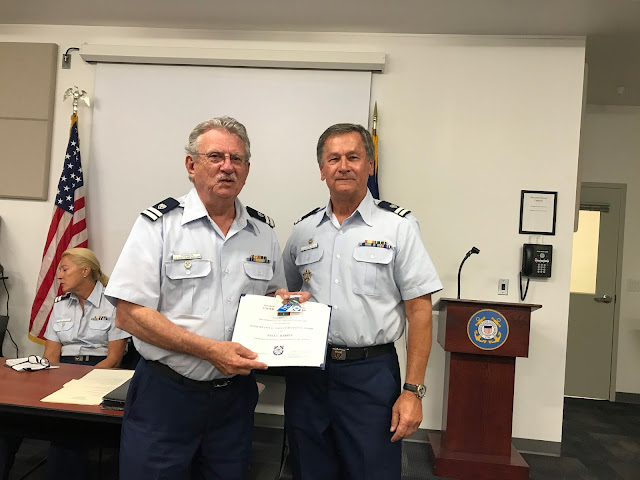 Paul Harren receives award from Bill Iwanyk.