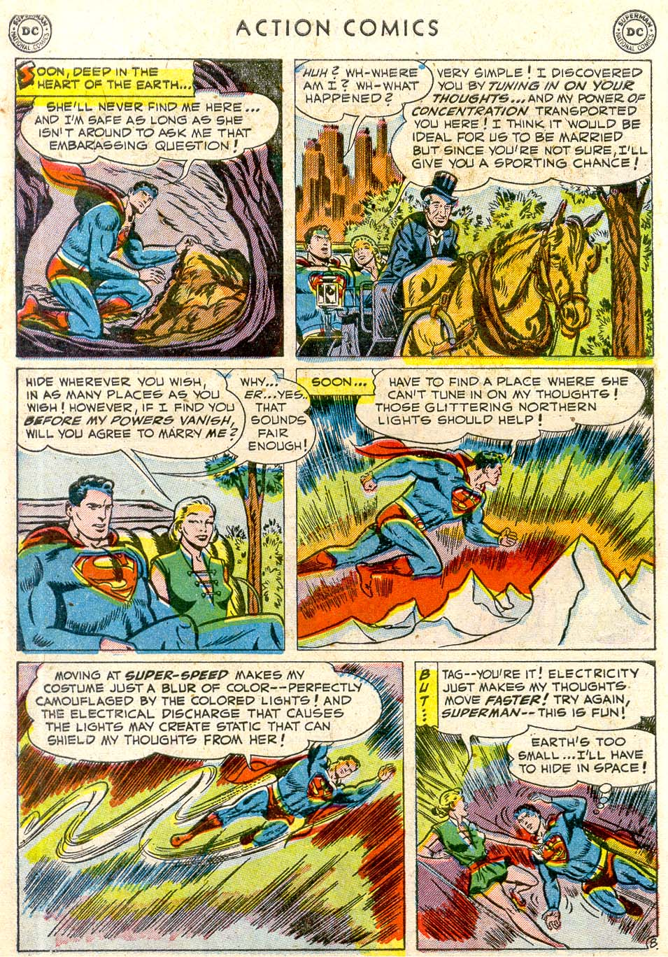 Read online Action Comics (1938) comic -  Issue #163 - 9