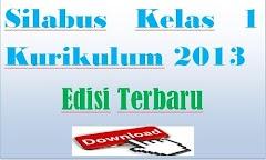 Silabus Kelas 1 Kurikulum 2013 Edisi Terbaru