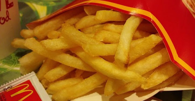Mc Donalds Fries Is Disgusting