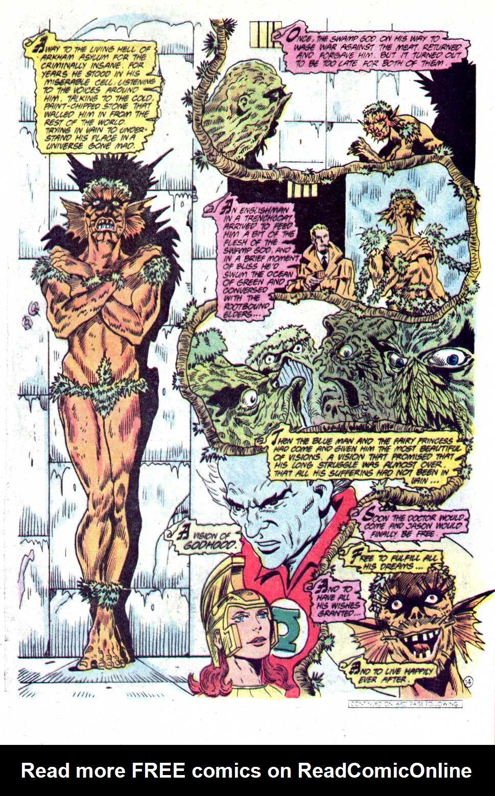 Read online Secret Origins (1986) comic -  Issue #23 - 38