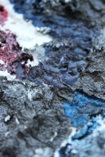 Blutmond - in blue
