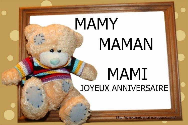 Texte Joyeux Anniversaire Maman