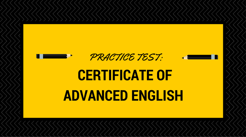 Practice Tests For The Certificate Of Advanced English - LSI