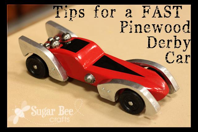 Fast Pinewood Derby Secrets