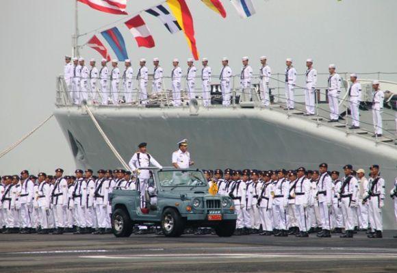Panglima TNI di Hari Armada ke-67