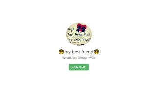 my best friend whatsapp group link