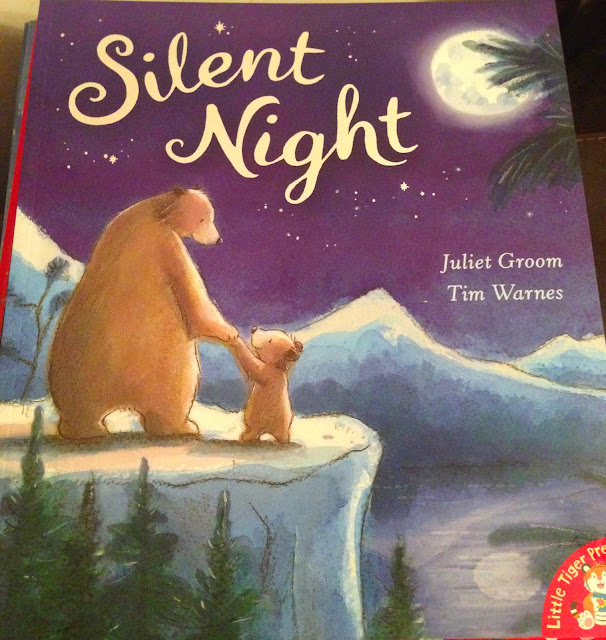 Our Christmas Book Advent tree   Ideas for the Best Children's Books to Buy this Christmas - silent night