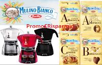 Logo Mulino Bianco: vinci Mokissima Bialetti con ''Ricaricati di gusto''