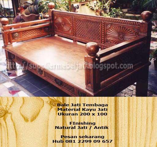 Jual Furniture Jati Jepara Daybed Bale Bale Jati Antik