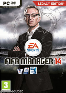 FIFA Manager Legacy Edition 14 for PC XP/Vista/7/8 Brand New Factory Sealed
