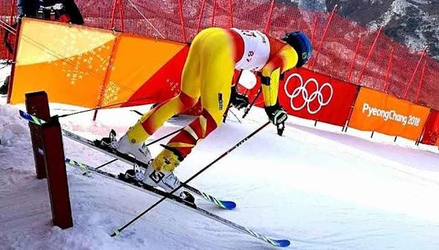 Olympia: Ristevski stürzt beim Riesenslalom
