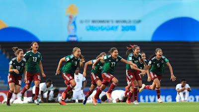 Selección Mexicana femenil impone