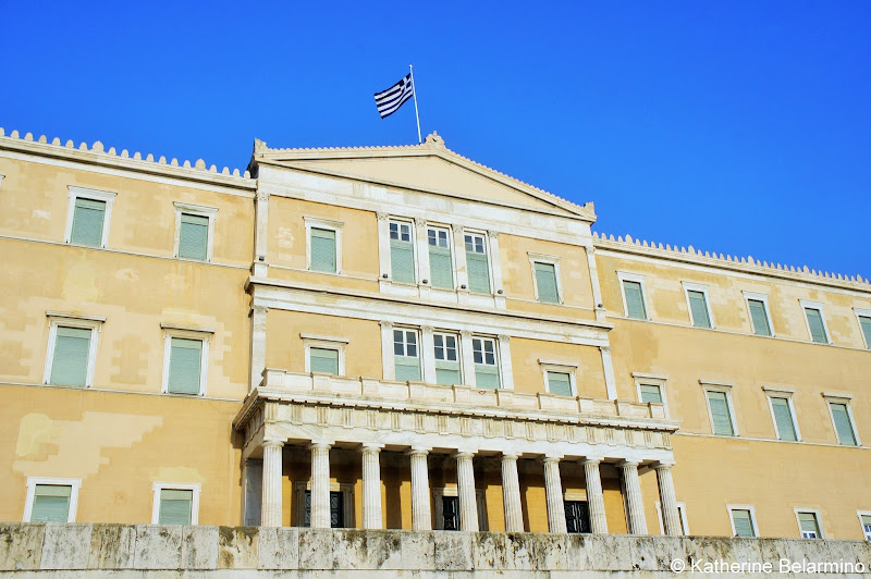 Greek Parliament Syntagma Square One Day in Athens