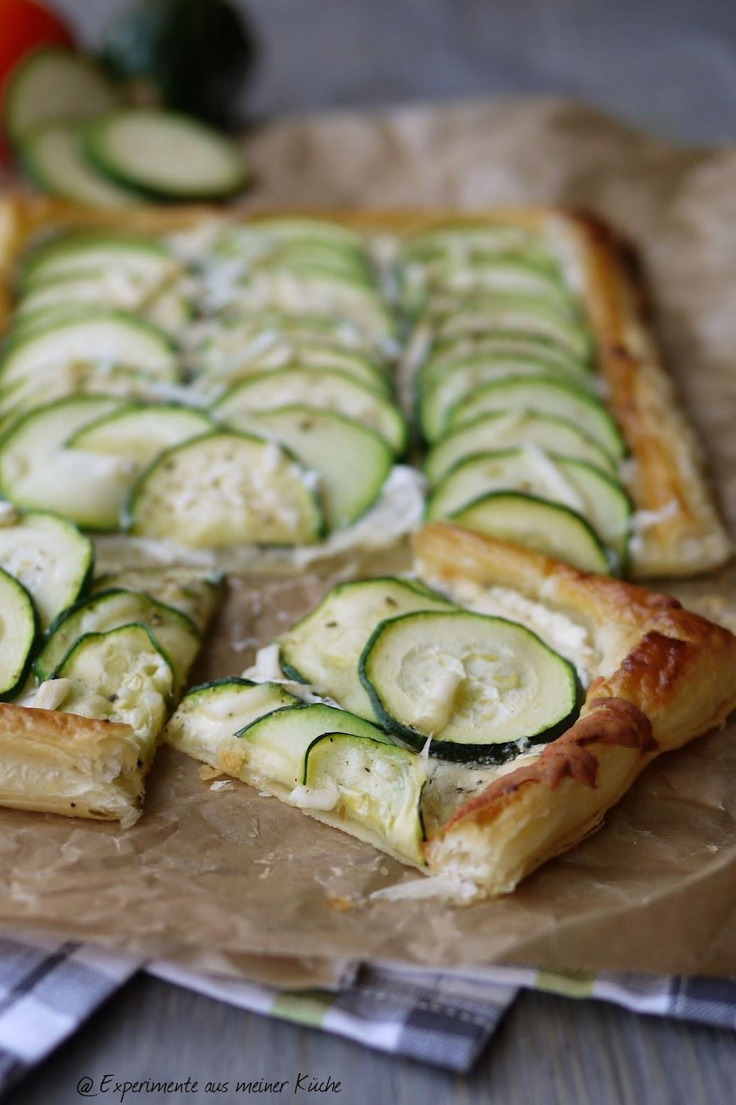 Experimente aus meiner Küche: Zweierlei Gemüsetarte