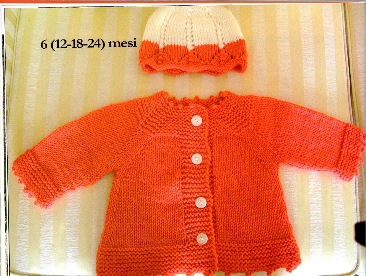 Eccezionale basta un filo.. lavori a maglia per bambini: FRAGOLA E LIMONE ED37