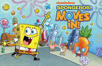 download SpongeBob Moves In Apk Data Obb Mod Money v4.37.00 For Android gratis