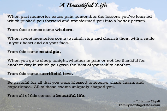 A Beautiful Life by Julianne Rigali