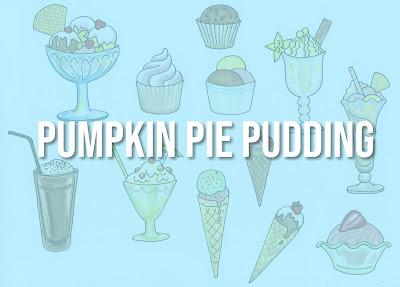 Easy Pumpkin Pie Pudding Recipe from Scratch