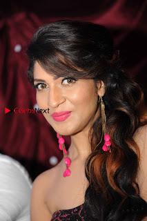 Kannada Actress Iti Acharya Stills in Strapless Dress at Dhwani Movie Press Meet  0001.jpg