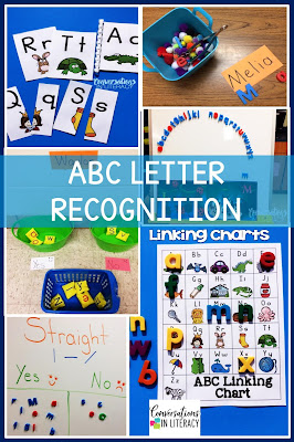 Letter Recognition and Letter Identification Activities