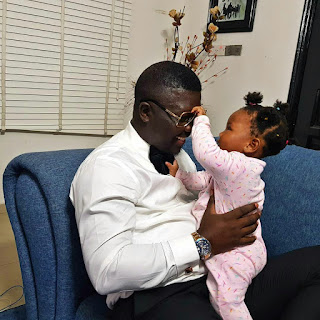 BZGZmtdhAB3 - ENTERTAINMENT: Seyi Law shares lovely photos with daughter