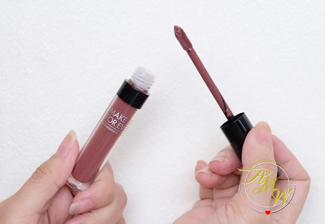 a photo of Make Up For Ever ARTIST LIQUID MATTE lipstick review by Nikki Tiu of www.askmewhats.com