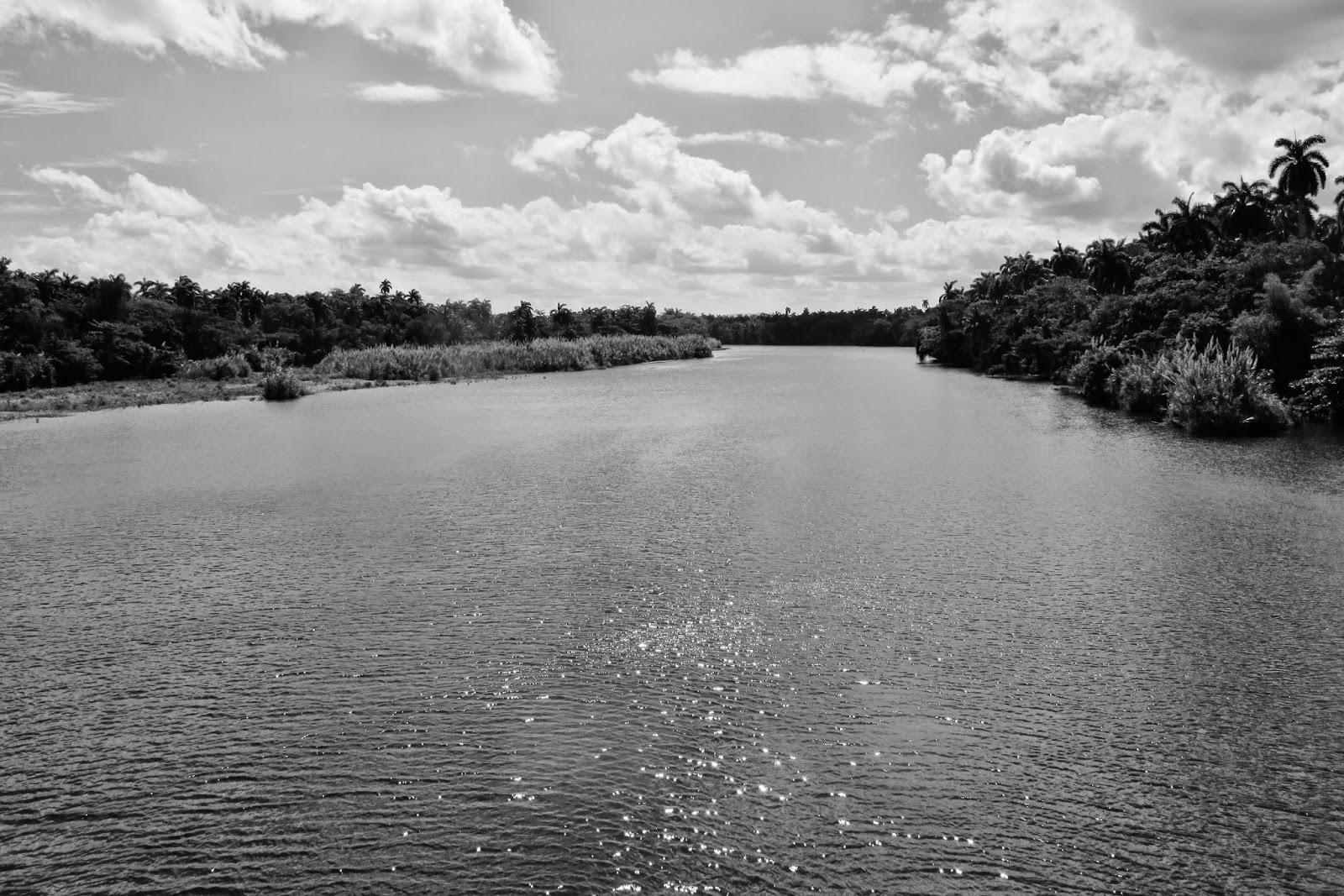 Rio Toa, próximo à Baracoa e o mais caudaloso de Cuba