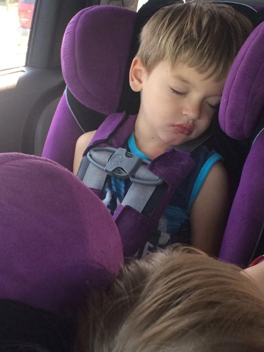 Over tired kids make errands so much harder! #Fueltheiradventures #AD