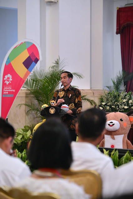 Jokowi Ingin Masyarakat Demam Asian Games