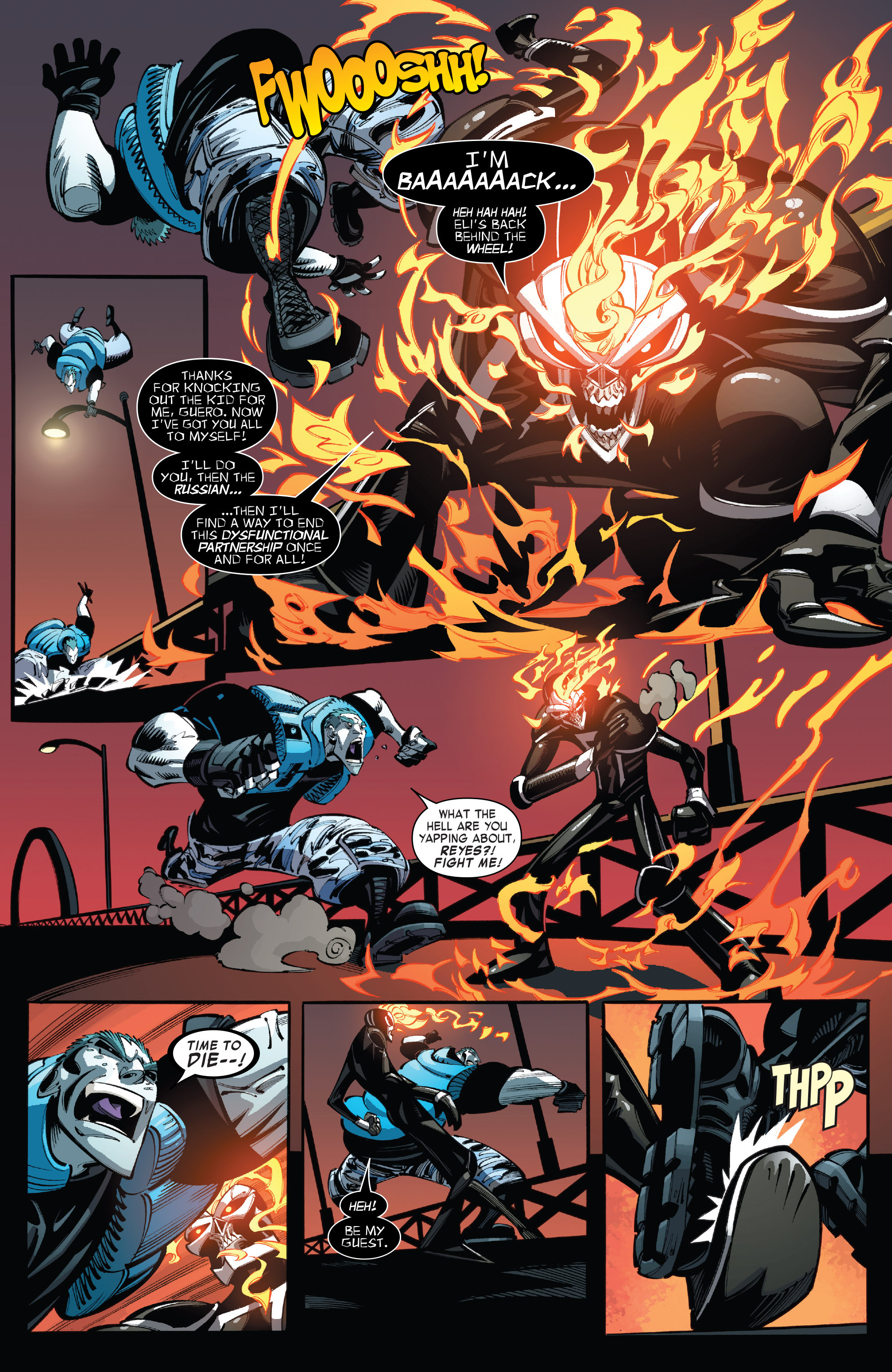 Read online All-New Ghost Rider comic -  Issue #10 - 15
