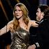Celine Dion Sebak Terima Trofi Daripada Anak