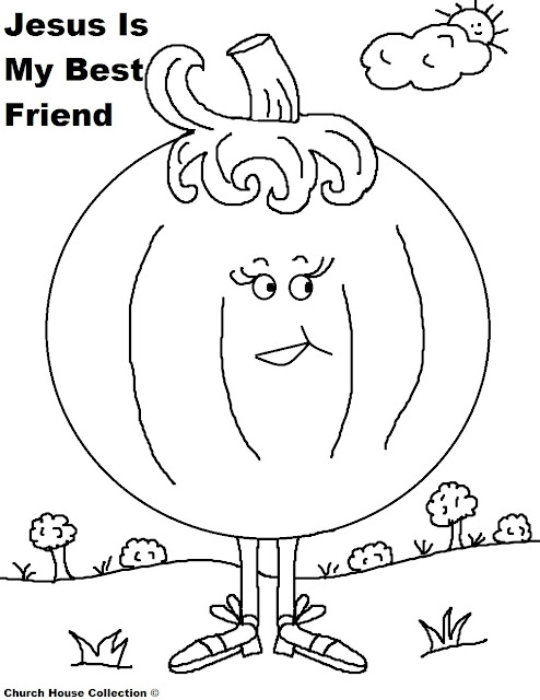 Church House Collection Blog: Free Printable Pumpkin