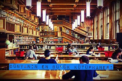 Dünyanın en büyük kütüphanesi