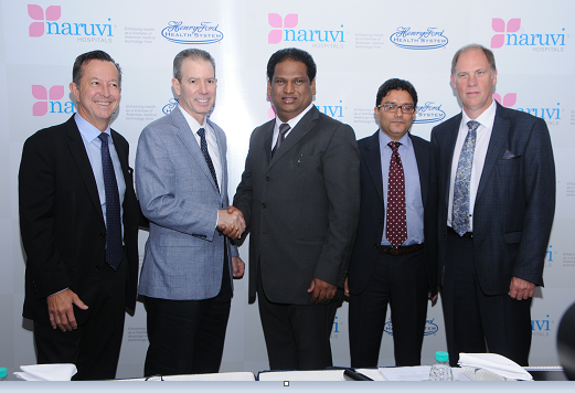 PEARL HUMAN CARE announces establishment of NARUVI HOSPITALS IN INDIA