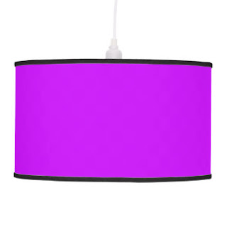 Lavender pendant lamp