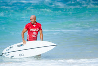 71 Kelly Slater at Vans World Cup Vans World Cup foto WSL WSL Sloane