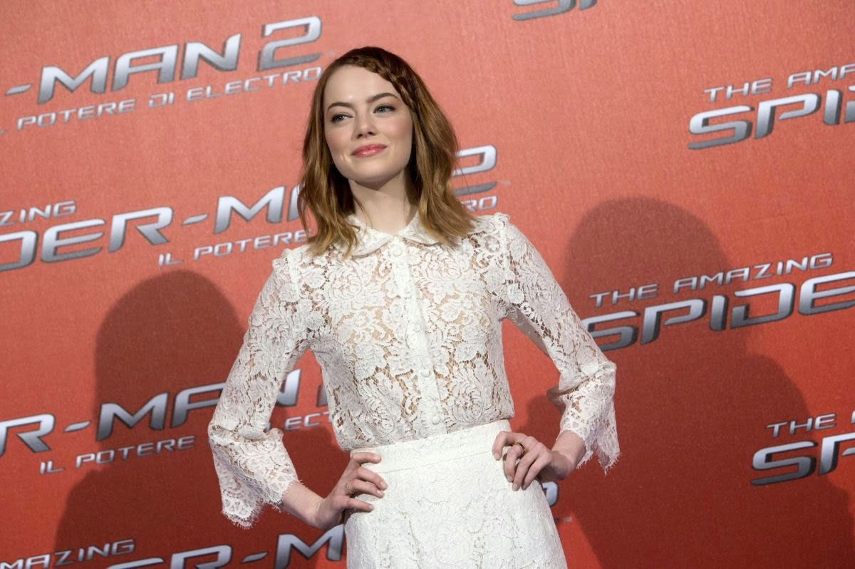 Emma Stone - 'The Amazing Spider Man 2' Rome photocall