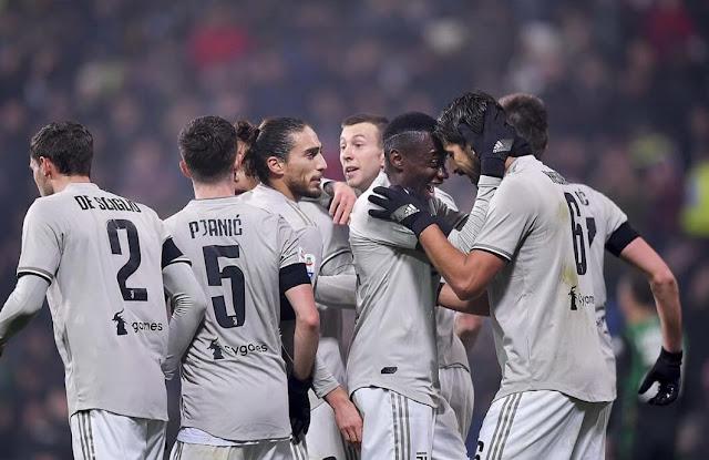 Juventus bantai Sassuolo