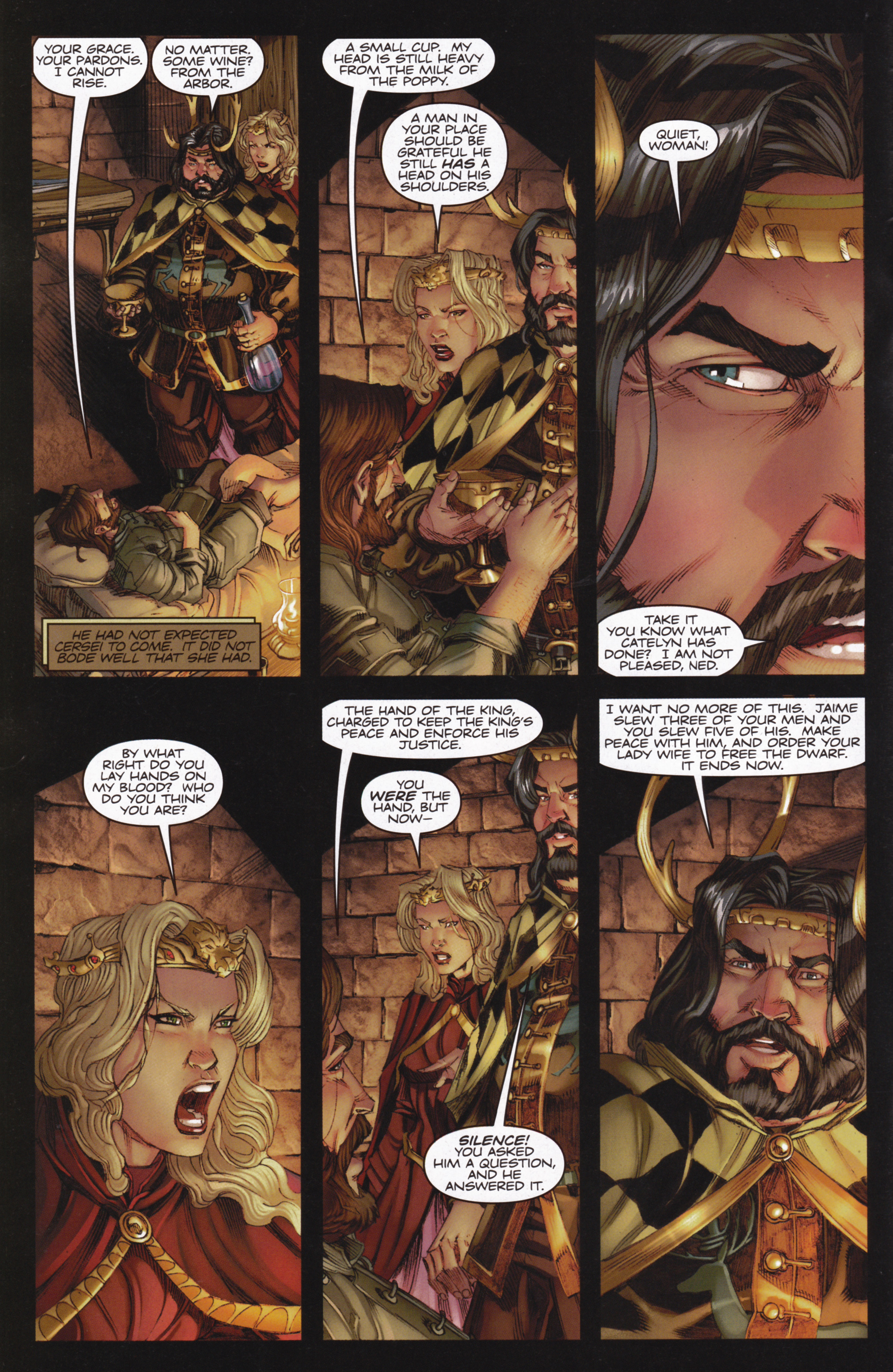 Read online A Game Of Thrones comic -  Issue #13 - 6