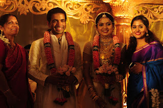 meera nandan at the wedding