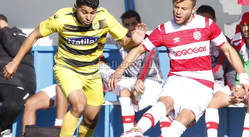 النادي الإفريقي يحقق الفوز على فريق النادي البنزرتي بهدفين في الجولة الثامنه من الرابطة التونسية لكرة القدم
